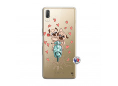 Coque Sony Xperia L3 Puppies Love