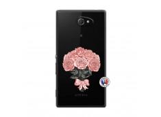 Coque Sony Xperia M2 Bouquet de Roses