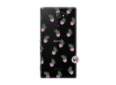 Coque Sony Xperia M2 Cactus Pattern