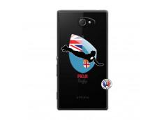 Coque Sony Xperia M2 Coupe du Monde Rugby Fidji