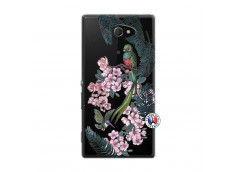 Coque Sony Xperia M2 Flower Birds
