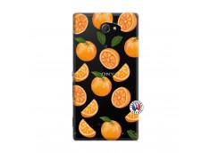 Coque Sony Xperia M2 Orange Gina