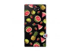 Coque Sony Xperia M2 Multifruits