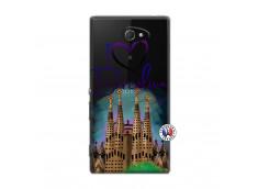 Coque Sony Xperia M2 I Love Barcelona