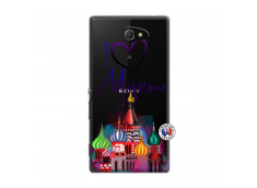 Coque Sony Xperia M2 I Love Moscow