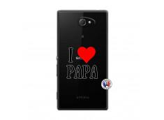 Coque Sony Xperia M2 I Love Papa