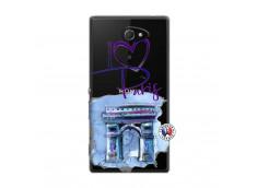 Coque Sony Xperia M2 I Love Paris Arc Triomphe