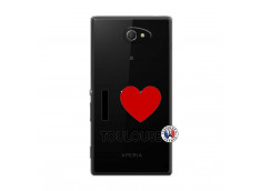 Coque Sony Xperia M2 I Love Toulouse