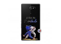 Coque Sony Xperia M2 Je peux pas j'ai Judo