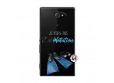 Coque Sony Xperia M2 Je Peux Pas J Ai Natation