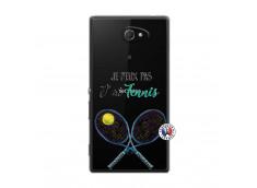 Coque Sony Xperia M2 Je Peux Pas J Ai Tennis