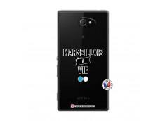 Coque Sony Xperia M2 Marseillais à Vie