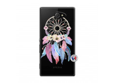 Coque Sony Xperia M2 Multicolor Watercolor Floral Dreamcatcher