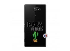 Coque Sony Xperia M2 Papa Tu Piques