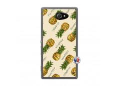 Coque Sony Xperia M2 Sorbet Ananas Translu