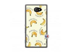 Coque Sony Xperia M2 Sorbet Banana Split Translu