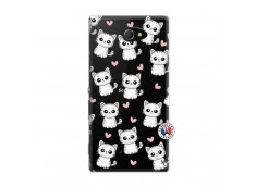 Coque Sony Xperia M2 Petits Chats