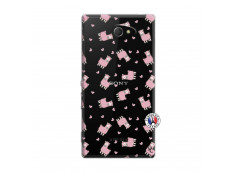 Coque Sony Xperia M2 Petits Moutons