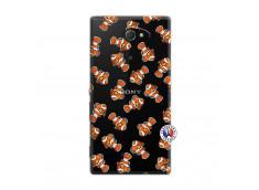 Coque Sony Xperia M2 Petits Poissons Clown