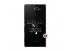 Coque Sony Xperia M2 Rien A Foot Allez Angers