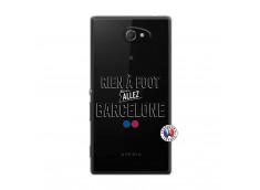 Coque Sony Xperia M2 Rien A Foot Allez Barcelone