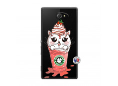 Coque Sony Xperia M2 Catpucino Ice Cream