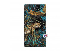 Coque Sony Xperia M2 Leopard Jungle