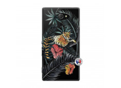 Coque Sony Xperia M2 Leopard Tree