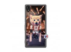 Coque Sony Xperia M4 Aqua Cat Nasa Translu