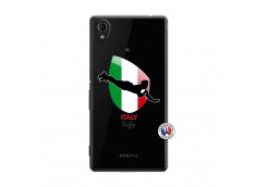 Coque Sony Xperia M4 Aqua Coupe du Monde Rugby-Italy