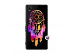 Coque Sony Xperia M4 Aqua Dreamcatcher Rainbow Feathers