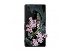 Coque Sony Xperia M4 Aqua Flower Birds
