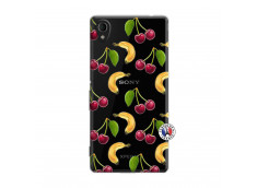 Coque Sony Xperia M4 Aqua Hey Cherry, j'ai la Banane