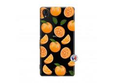 Coque Sony Xperia M4 Aqua Orange Gina