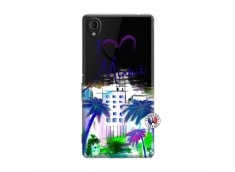 Coque Sony Xperia M4 Aqua I Love Miami
