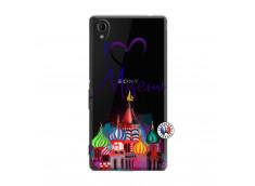 Coque Sony Xperia M4 Aqua I Love Moscow
