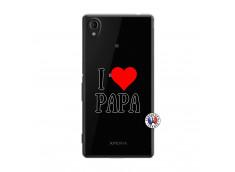 Coque Sony Xperia M4 Aqua I Love Papa