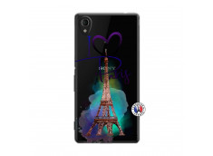 Coque Sony Xperia M4 Aqua I Love Paris