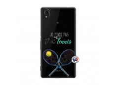 Coque Sony Xperia M4 Aqua Je Peux Pas J Ai Tennis