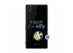 Coque Sony Xperia M4 Aqua Je Peux Pas J Ai Volley