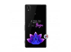 Coque Sony Xperia M4 Aqua Je Peux Pas J Ai Yoga