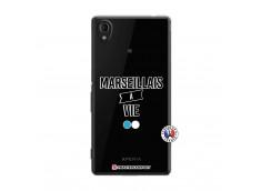 Coque Sony Xperia M4 Aqua Marseillais à Vie