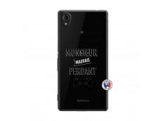 Coque Sony Xperia M4 Aqua Monsieur Mauvais Perdant