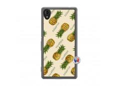 Coque Sony Xperia M4 Aqua Sorbet Ananas Translu