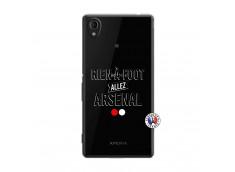 Coque Sony Xperia M4 Aqua Rien A Foot Allez Arsenal
