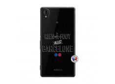 Coque Sony Xperia M4 Aqua Rien A Foot Allez Barcelone