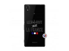 Coque Sony Xperia M4 Aqua Rien A Foot Allez La France