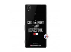 Coque Sony Xperia M4 Aqua Rien A Foot Allez Liverpool