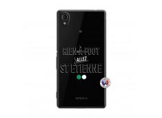 Coque Sony Xperia M4 Aqua Rien A Foot Allez St Etienne