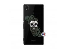 Coque Sony Xperia M4 Aqua Skull Hipster